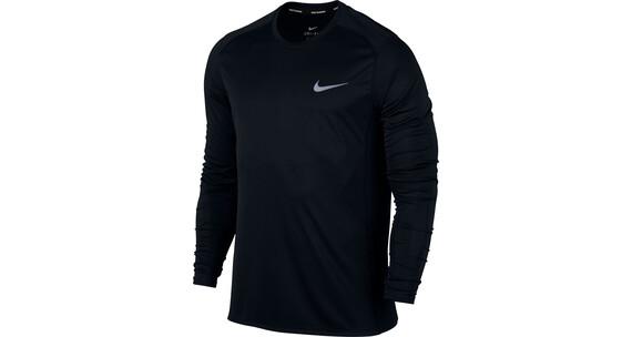 Nike Dry Miler hardloopshirt zwart